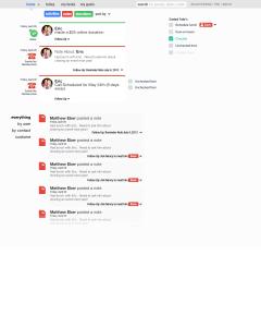 dashboard org wide stream copy